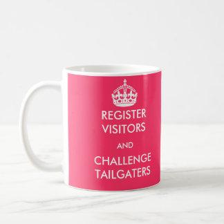 Register Visitors and Challenge Tailgaters Mug