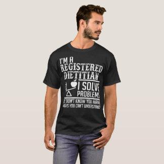 Registered Dietitian Solve Problems Understand T-Shirt