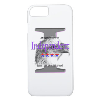 Registered Independent iPhone 7 Case