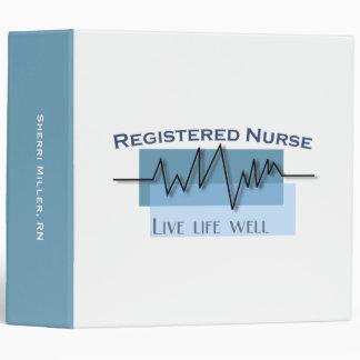 Registered Nurse Custom Professional Binders