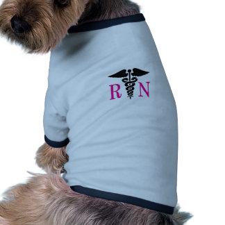 REGISTERED NURSE DOG TEE SHIRT