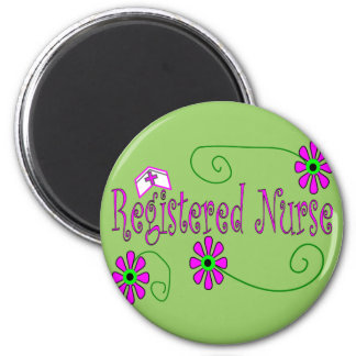 Registered Nurse gifts-- 2 Inch Round Magnet