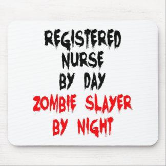 Registered Nurse Zombie Slayer Mouse Pad