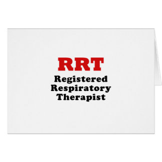Registered Respiratory Therapist Card