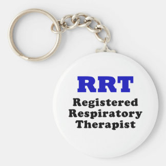 Registered Respiratory Therapist Keychain