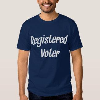 Registered Voter Blue T-Shirt