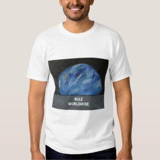 Règle dans le monde entier t-shirts