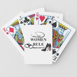 RÈGLE DE FEMMES JEUX DE 52 CARTES