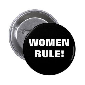 RÈGLE DE FEMMES ! PIN'S AVEC AGRAFE