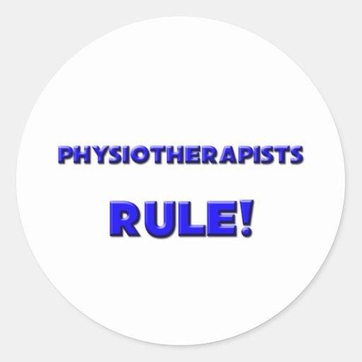 Règle de physiothérapeutes ! adhésifs