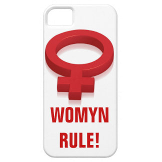 RÈGLE DE WOMYN COQUE iPhone 5