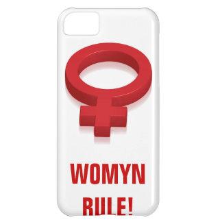 RÈGLE DE WOMYN ! ÉTUIS iPhone 5C