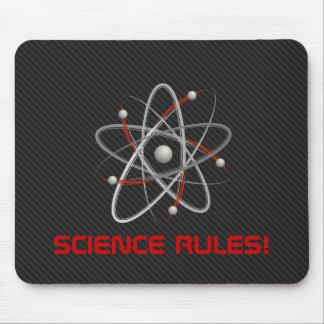 RÈGLES DE LA SCIENCE ! Geek Mousepads de l'atome Tapis De Souris