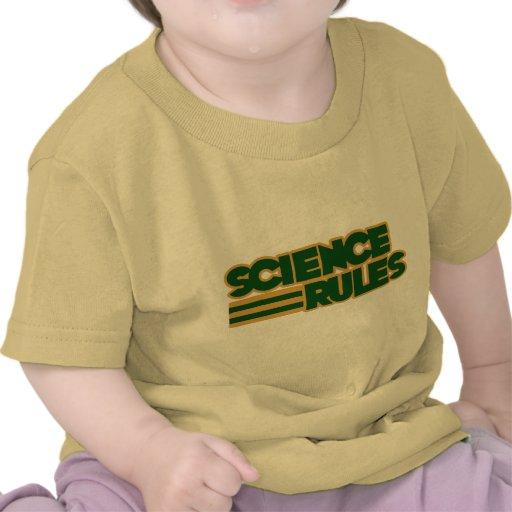 Règles de la Science T-shirts