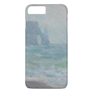 Regnvaer Etretat by Claude Monet iPhone 7 Plus Case