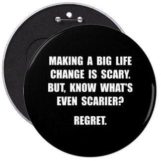 Regret 6 Inch Round Button