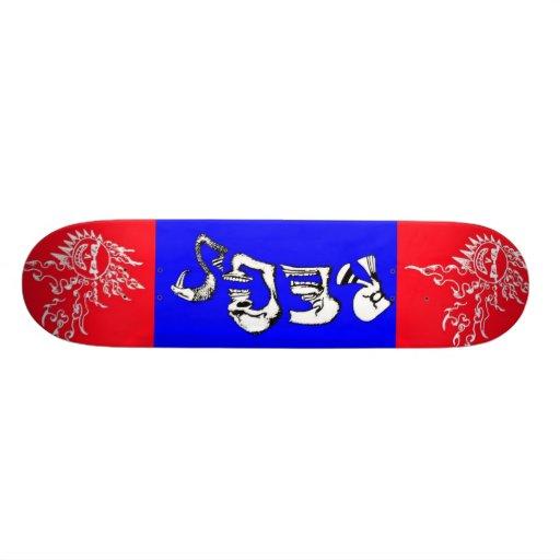 Regs 'SoulFreedom' Sun Skate Skate Board