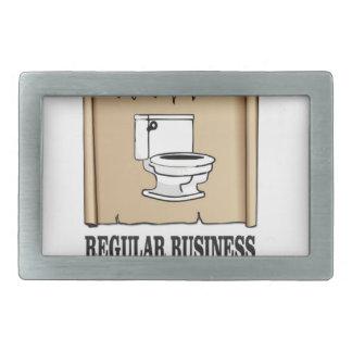 regular business toilet belt buckle
