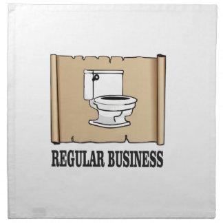 regular business toilet napkin