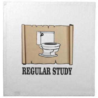 regular study fun napkin
