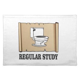 regular study fun placemat