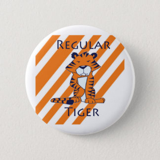 Regular Tiger 2 Inch Round Button
