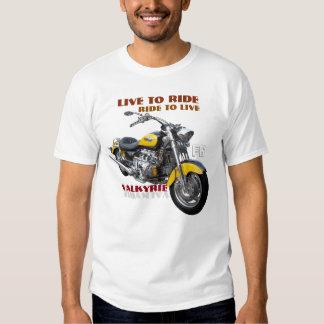 Regular Valkyrie motorcycle design Tees