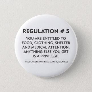 Regulation # 5 2 inch round button