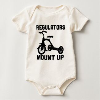 Regulators Mount Up. Baby Bodysuit