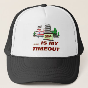 338c58ea515e3 Rehab Timeout Beer T-shirts Gifts Trucker Hat