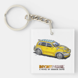 Rehabbed Car - Keychain