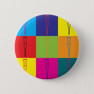 Rehabilitation Pop Art 2 Inch Round Button