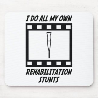 Rehabilitation Stunts Mouse Mat