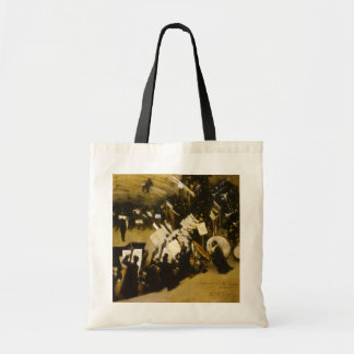 Rehearsal of the Pasdeloup Orchestra by Sargent Canvas Bags