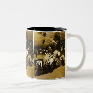 Rehearsal of the Pasdeloup Orchestra by Sargent Two-Tone Coffee Mug