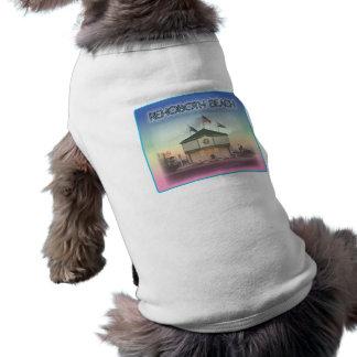 Rehoboth Beach Delaware - Rehoboth Ave Scene Pet Tee Shirt