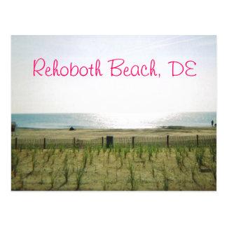 Rehoboth Beach Postcard - Pink Ink
