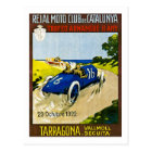 Reial Moto Club de Catalunya Retro Vintage Racing Postcard