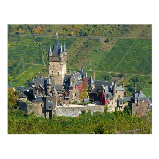 Reichsburg Cochem Castle, Germany Postcard