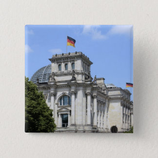 Reichstag, Berlin, Germany 2 2 Inch Square Button