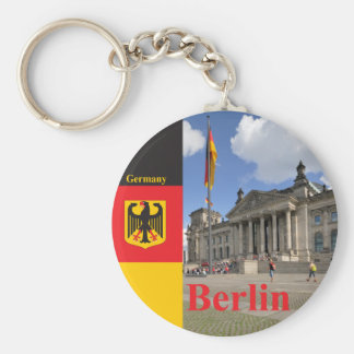 Reichstag building. Berlin, Germany Keychain