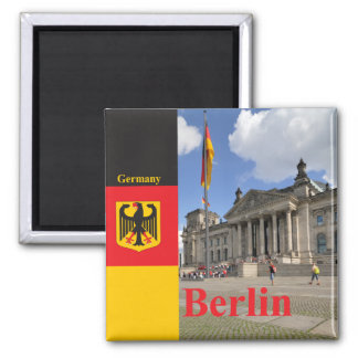 Reichstag building. Berlin, Germany Magnet