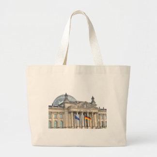 Reichstag building in Berlin, Germany Large Tote Bag