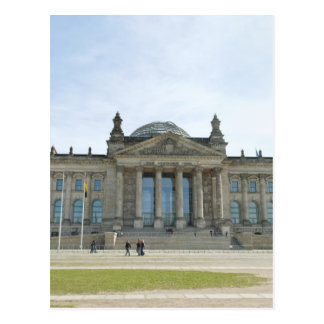 Reichstag Building in Berlin Postcard
