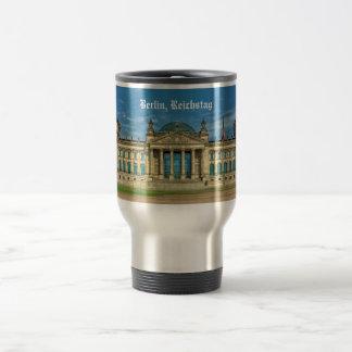 Reichstag Building in Berlin Travel Mug