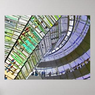 Reichstag / Bundestag,Interior, Berlin(r41cpst) Poster