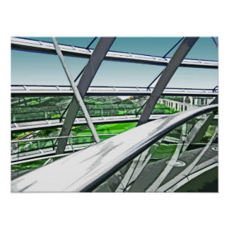 Reichstag / Bundestag,Interior Rails,Berlin(r42ct) Poster
