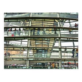 Reichstag / Bundestag,Outside Look In, Berlin(r15p Postcard