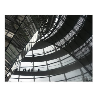 reichstag dome postcard