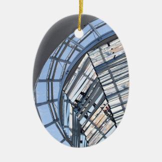Reichstag Mirrored Dome - Berlin Ceramic Ornament